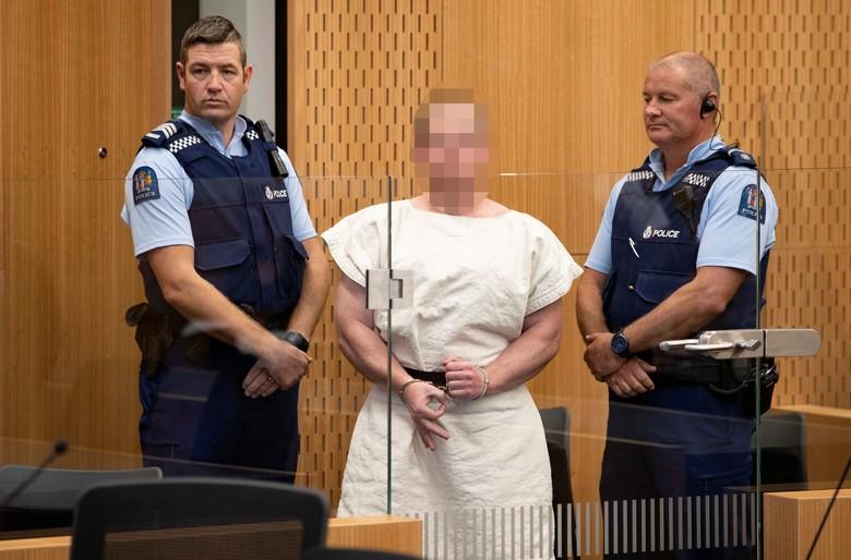 Pelaku Teror di New Zealand Beli 4 Senjata dengan Cara Online