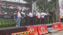 Deklarasi MRSF di DKI, Korlantas Polri Pecahkan Rekor Muri