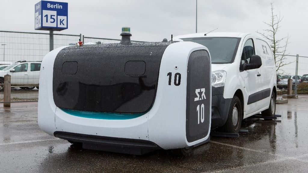 Ini Stan, Robot Tukang Parkir Valet di Bandara Lyon