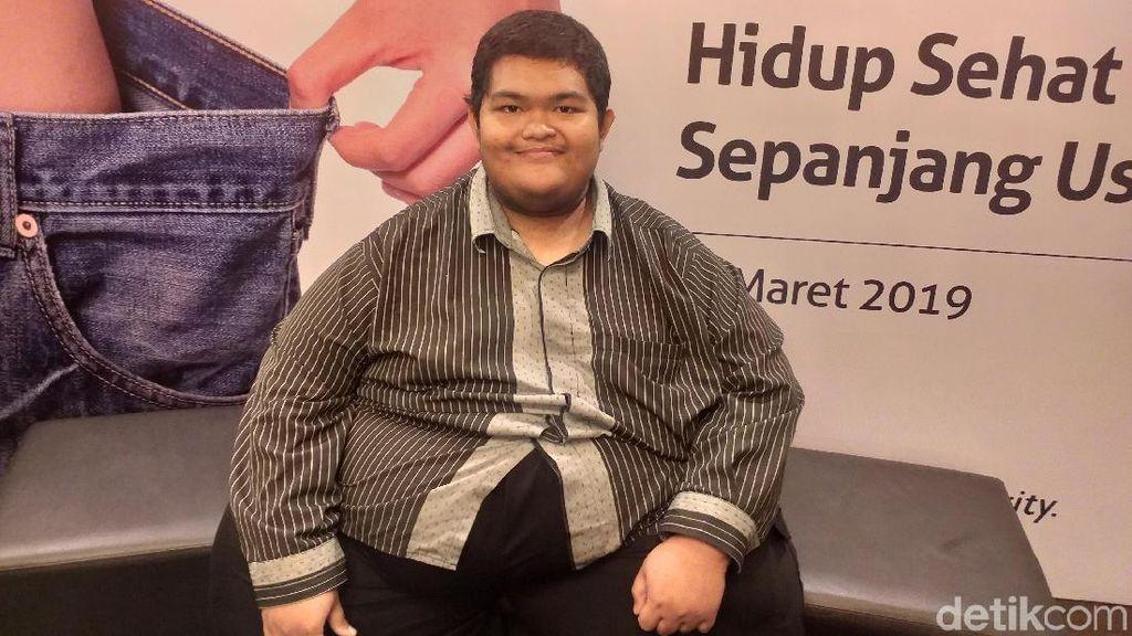 Bobotnya Sempat 239 Kg, Naufal Berjuang Melawan Obesitas Ekstrem