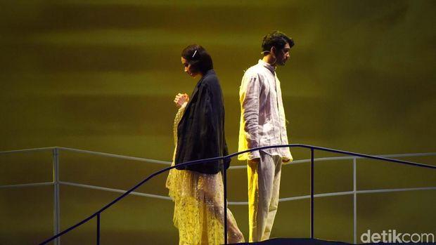 Syahdunya Lantunan Syair di Musikal 'Cinta Tak Pernah Sederhana'