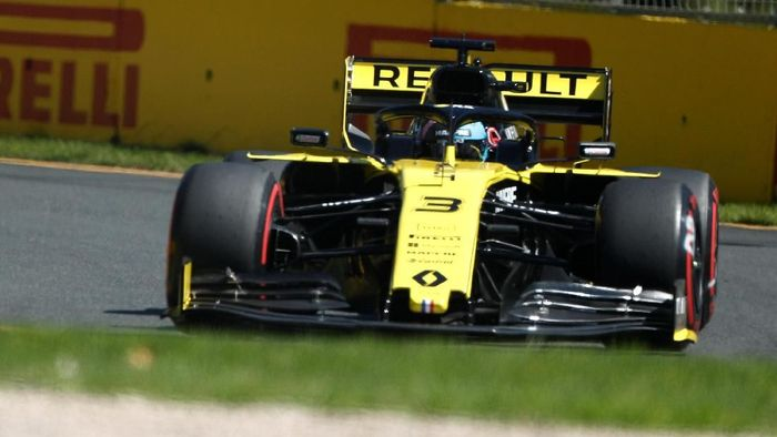Pebalap Renault, Daniel Ricciardo. (Foto: Edgar Su/Reuters)