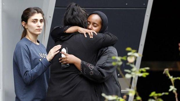 Warga New Zealand saling memberikan dukungan usai teror masjid menewaskan 49 orang