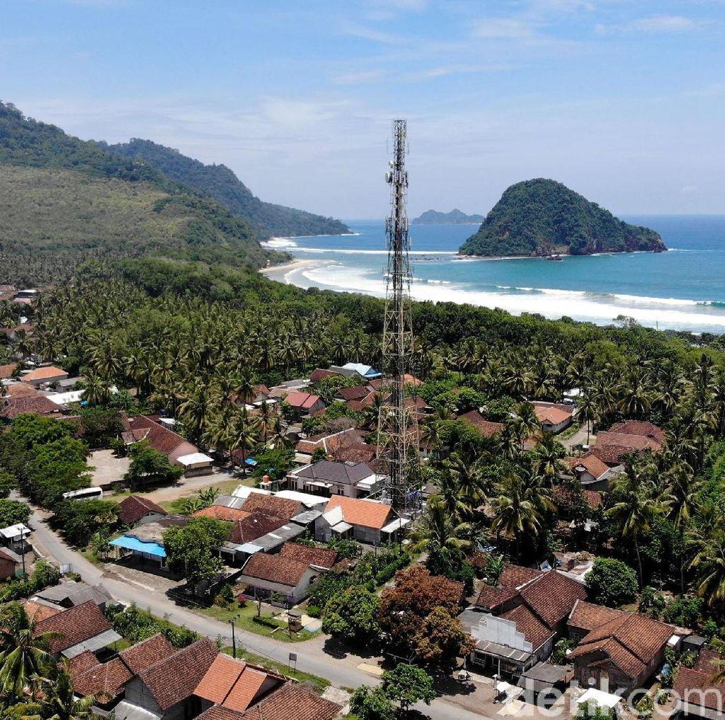 Operator Seluler Perkuat Sinyal Internet di Area Wisata