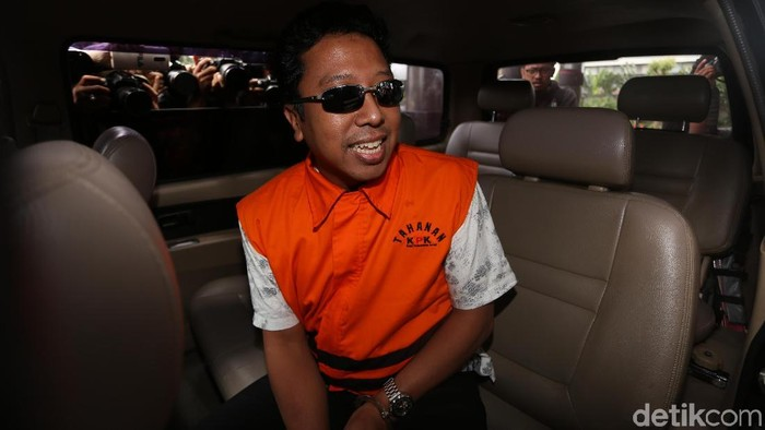 Ketum PPP Romahurmuziy ditahan KPK (Agung Pambudhy/detikcom)