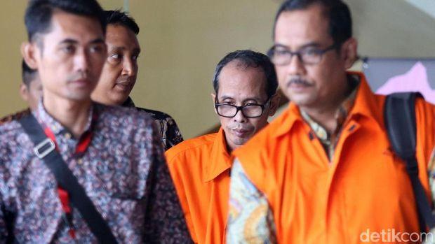 Kepala Kantor Kemenag Kabupaten Gresik dan Kepala Kantor Wilayah Kemenag Jawa Timur ditahan KPK