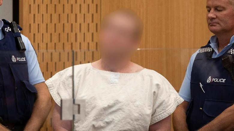 Tarrant Bertanggung Jawab Atas Teror 36 Menit di 2 Masjid New Zealand