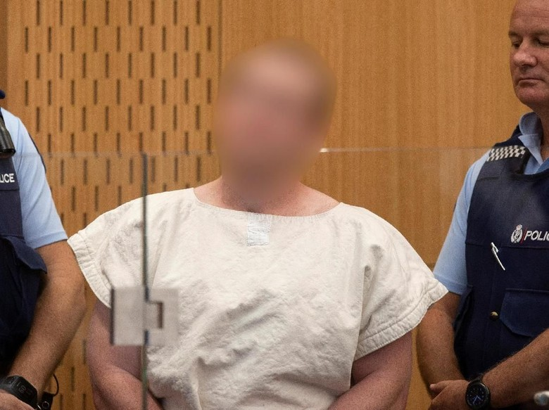 Pelaku Teror Masjid New Zealand Diduga Jadi Ekstrem Usai Keliling Dunia