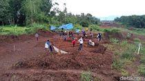 Situs Desa Kuno Pra-Majapahit Ada di Badan Jalan Tol Pandaan-Malang