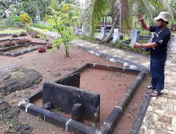 Inilah Situs Sokoliman, destinasi wisata sejarah di Gunungkidul, DI Yogyakarta. Situs ini menyimpan aneka artefak dari zaman megalitikum. (Pradito/detikcom)