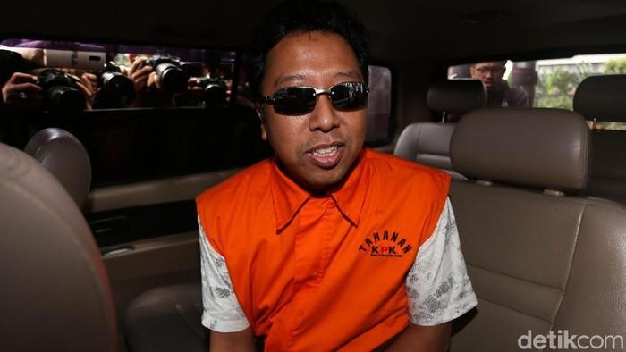 Ketum PPP Romahurmuziy ditahan KPK./Foto: Agung Pambudhy