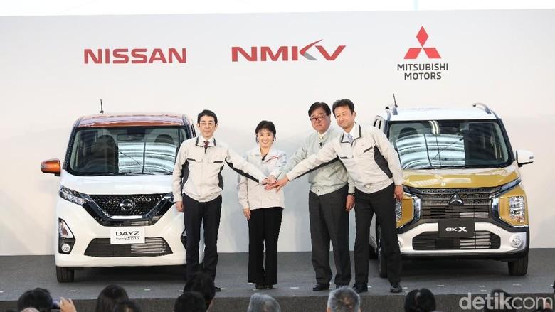 Nissan Dayz dan Mitsubishi eK Wagon (Foto: Mitsubishi)