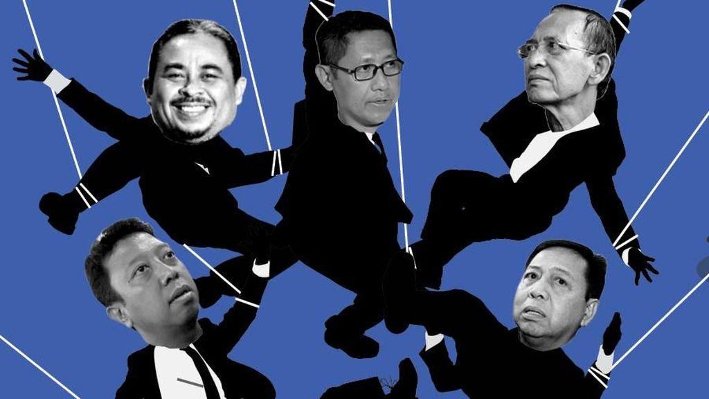 Korupsi Ketum Parpol, Dari Lutfhi hingga Romi