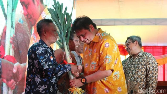 Menteri Perindustrian Airlangga Hartarto/Foto: Eko Sudjarwo/detikcom