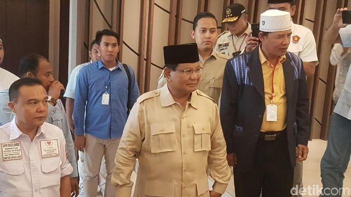 Prabowo Subianto/Foto: Bahtiar Rivai/detikcom