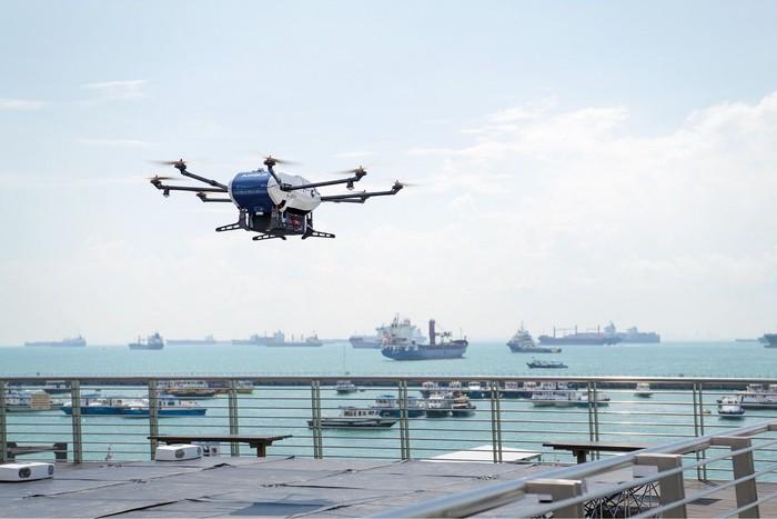 Ilustrasi drone. Foto: Dok : Airbus