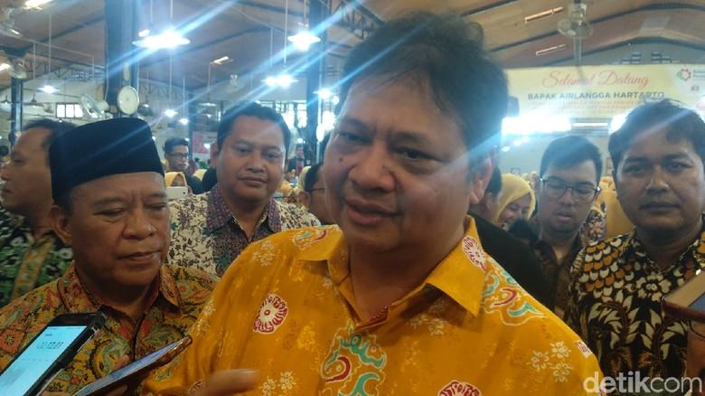 Rommy Jadi Tersangka KPK, Ketum Golkar Yakin Jokowi Tetap Menang