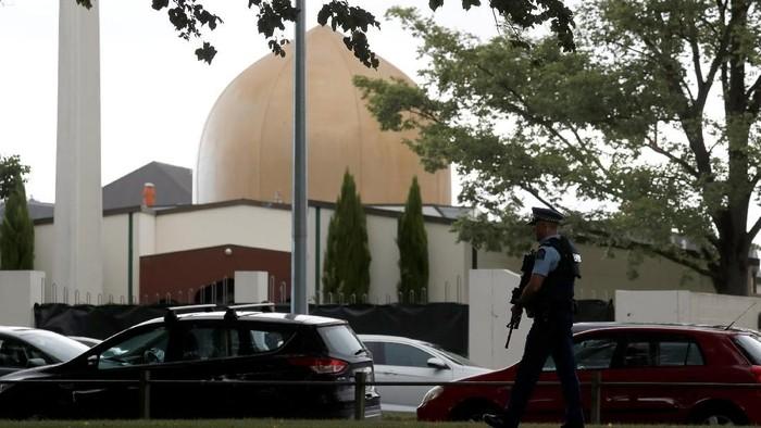 Masjid Al Noor yang menjadi salah satu okasi penembakan brutal di New Zealand (Selandia Baru). Foto: REUTERS/Jorge Silva