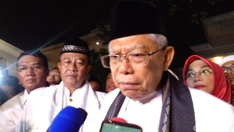 Bicara soal Korupsi, Maruf Amin Singgung Kebocoran Keuangan Negara