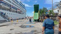Dua Kapal Pesiar Berisi Ratusan Wisman Bersandar di Pelabuhan Benoa
