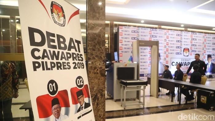 Stunting banyak dibahas oleh kedua peserta debat (Foto: Pradita Utama)