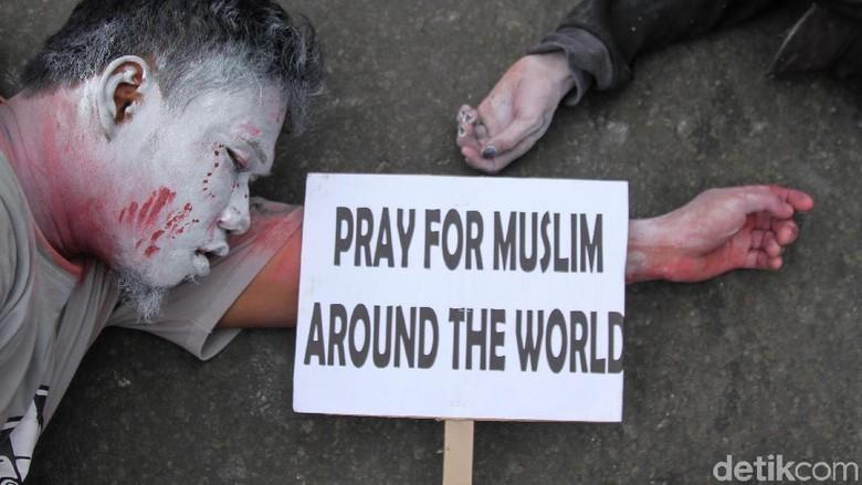 Polisi Selandia Baru Tangkap Pria Penyebar Video Teror Penembakan Masjid