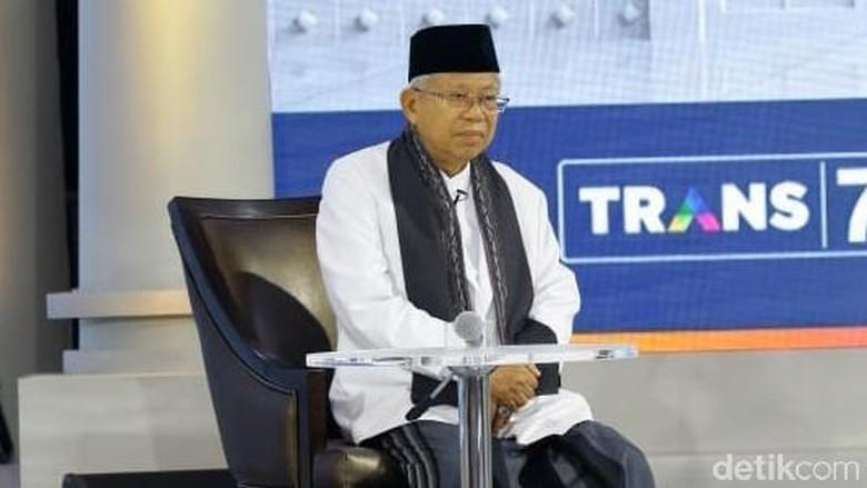 Visi Maruf Amin: Teruskan Kerja Jokowi-JK