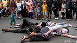 Aksi Teatrikal Mengutuk Penembakan di New Zealand