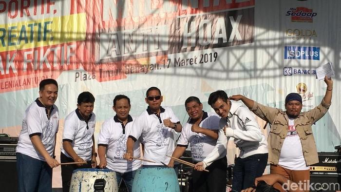 Foto: Polri adakan acara Milenial Anti Hoax (Arief/detikcom)