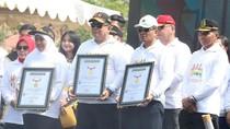 Millenial Road Safety Festival di Suramadu Raih 3 Rekor MURI