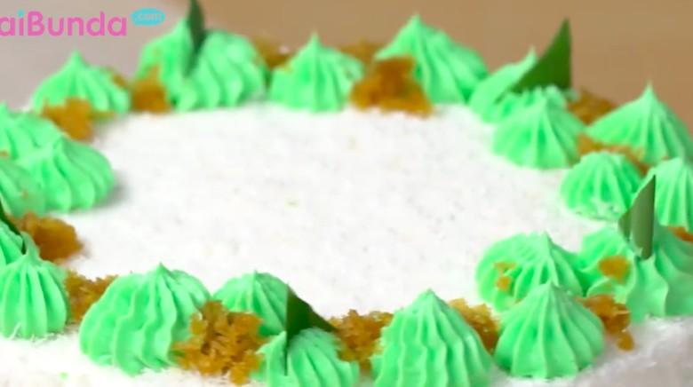 Resep cake klepon/ Foto: 20detik