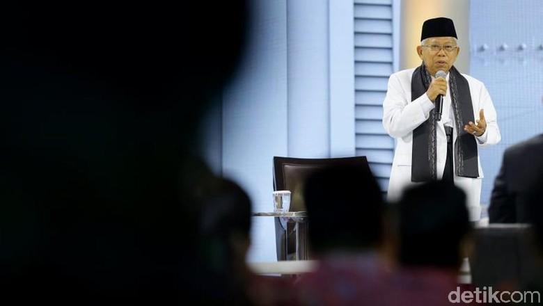 Versi Hasil Survei Meriah, Maruf Ambil Jalan Tengah
