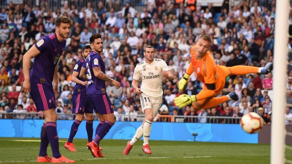 Hasil Liga Spanyol: Zidane Kembali, Isco-Bale Cetak Gol, Madrid Atasi Celta