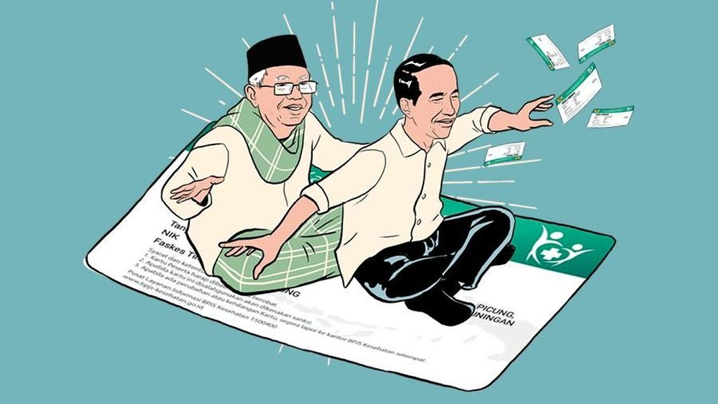 Janji Indonesia Sehat Jokowi-KH Maruf Amin