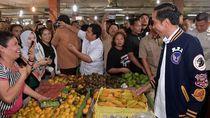 Kehebohan saat Jokowi Beli Sekilo Ikan Teri Medan