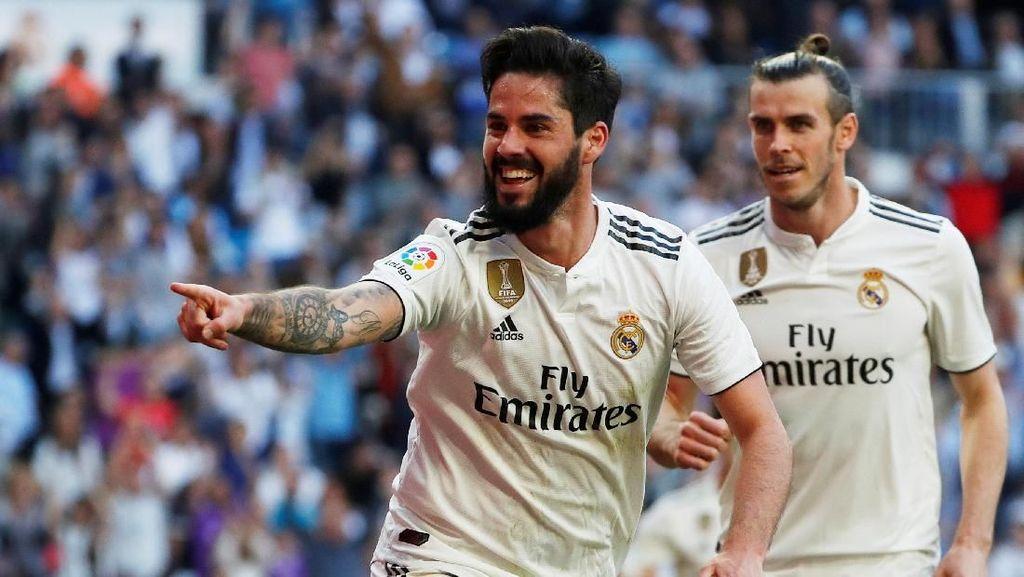 Marcelo, Isco, dan Navas Jadi Starter, Zidane: Jasa Mereka Tak Bisa Dilupakan