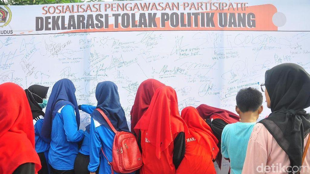 Pemilu Kian Dekat, Bawaslu Kudus Kampanyekan Anti Politik Uang