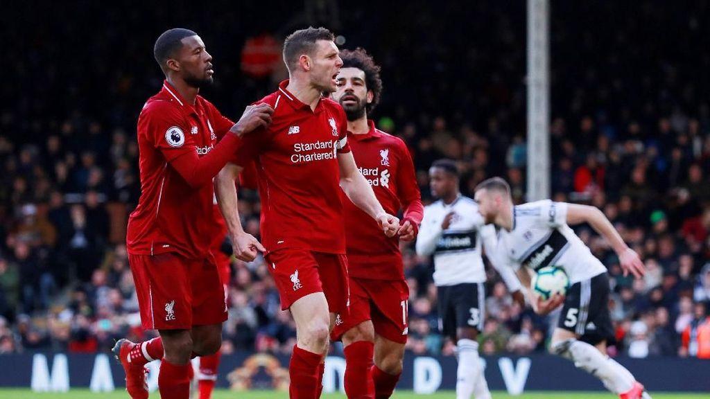 Klasemen Liga Inggris: Liverpool Salip Manchester City