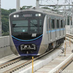 Imbas Aksi 22 Mei, MRT Jakarta Hanya Layani Stasiun Layang