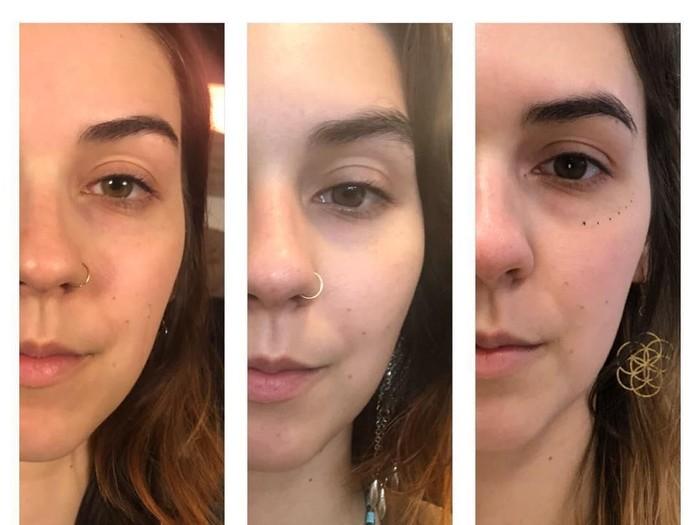Viral cara membuat wajah jadi tirus. Foto: Dok. YouTube dr. Mew