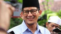 Sandiaga Pastikan Mobil Pelat TNI di Kampanye Prabowo Bukan dari BPN