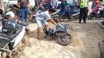 Lagi, Pemuda Rusak Motor Gegara Ditegur Polisi