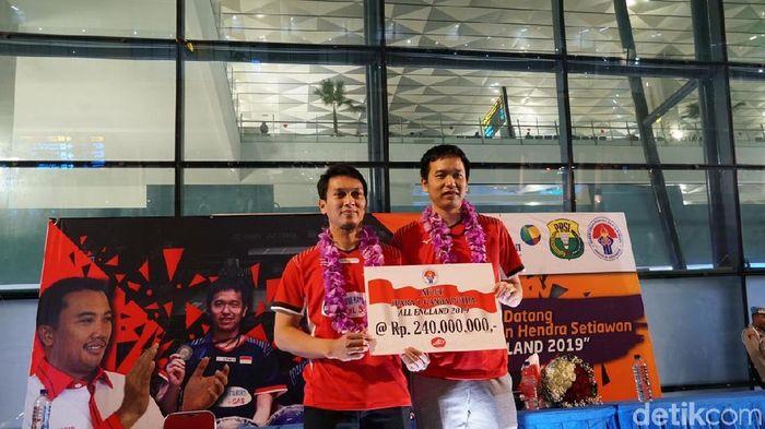 Hendra Setiawan/Mohammad Ahsan berambisi ke Olimpiade 2020 Tokyo. (Foto: Femi Diah/detikSport)