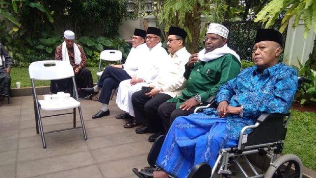 Sejumlah tokoh di Rumah Ma'ruf Amin
