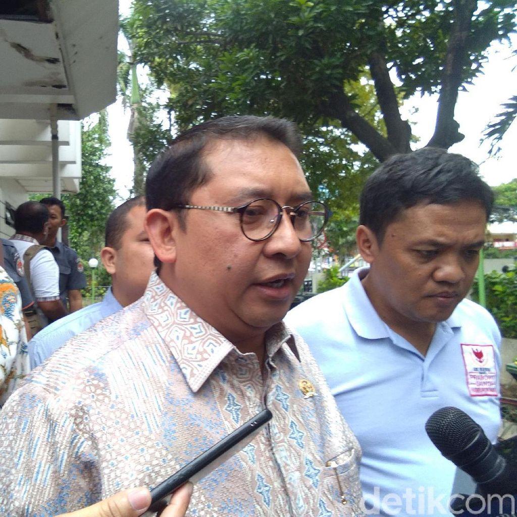 Soal Mobil Pelat TNI di Kampanye Prabowo, Fadli Serang Jokowi