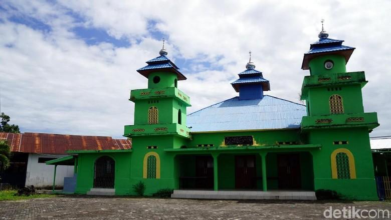 Masjid Jami An Nur, masjid tertua di Kota Bitung (Wahyu/detikcom)