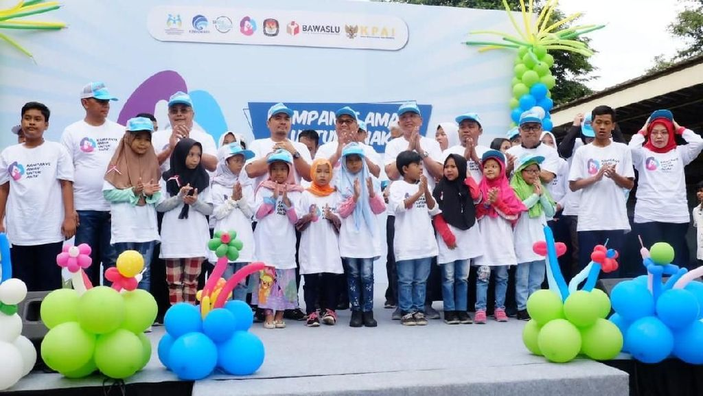 Pesan Kementerian PPPA agar Tak Langgar Hak Anak Saat Kampanye