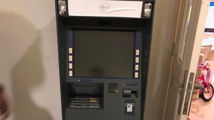 Foto: Penampakan mesin ATM di kamar Ramyadjie Priambodo (dok.istimewa)