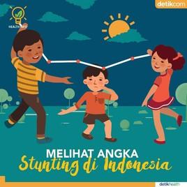 Infografis: Melihat Angka Stunting di Indonesia