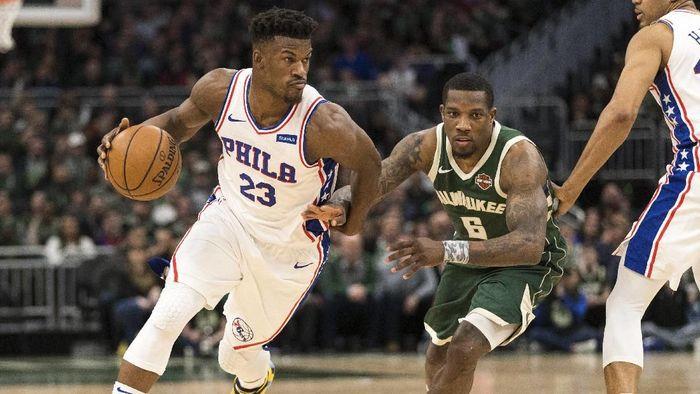Philadelphia 76ers lolos ke playoff usai menang atas Milwaukee Bucks (Foto: Jeff Hanisch-USA TODAY Sports)
